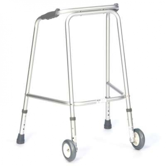 Domestic Walking Frame with wheels