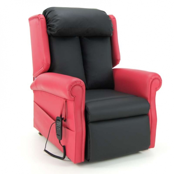 T Back Dual Motor Tilt in Space Riser Recliner