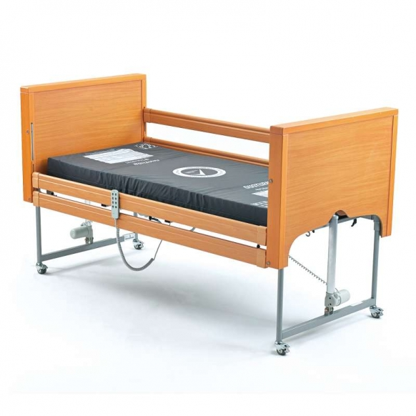 Low profiling Hospital bed