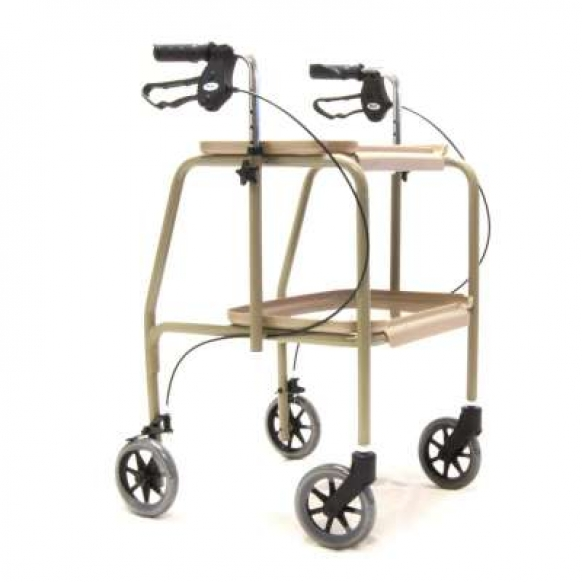 Indoor Walking Trolley with Brakes